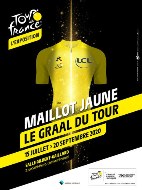 Exposition : maillot jaune